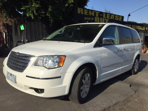 chrysler grand voyager limited edition