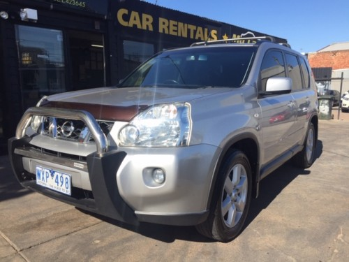 Nissan Xtrail Silver