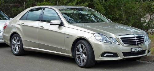 Mercedes 2010 E-Class